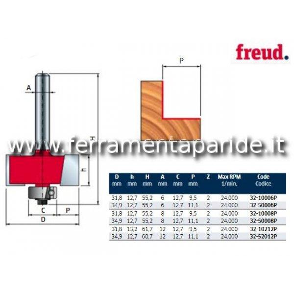 FRESA HM D 11,1 MM 32-50008 PER LEGNO FREUD