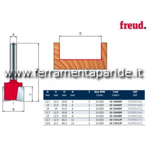 FRESA HM D 12,7 MM 16-10008 PER LEGNO FREUD