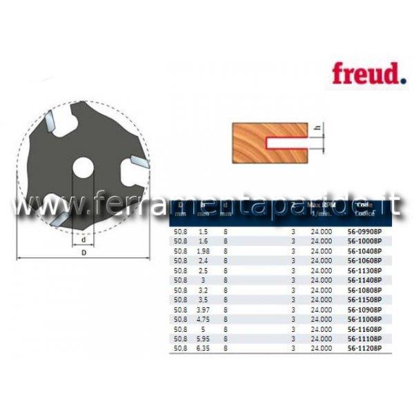 FRESA HM D 50,8 MM 56-10908 PER INCASTRI LEGNO FRE...
