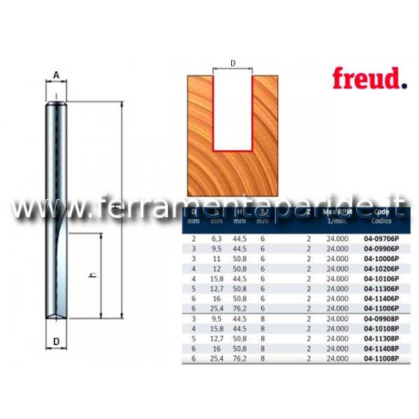FRESA HM D 6 MM 04-11008 PER LEGNO FREUD