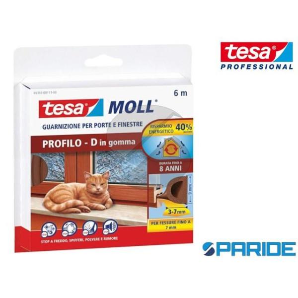 GUARNIZIONE ADESIVA TESAMOLL D-PROFILE 6 MT TESA M...