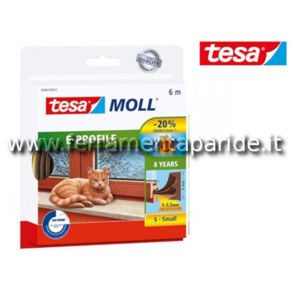GUARNIZIONE ADESIVA TESAMOLL E-PROFILE 6 MT TESA M...