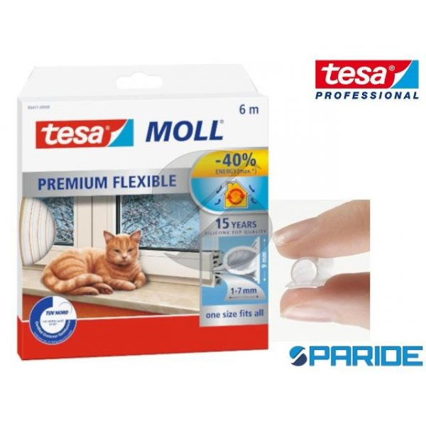 GUARNIZIONE ADESIVA TESAMOLL FLEXIBLE 6 MT TESA BI...