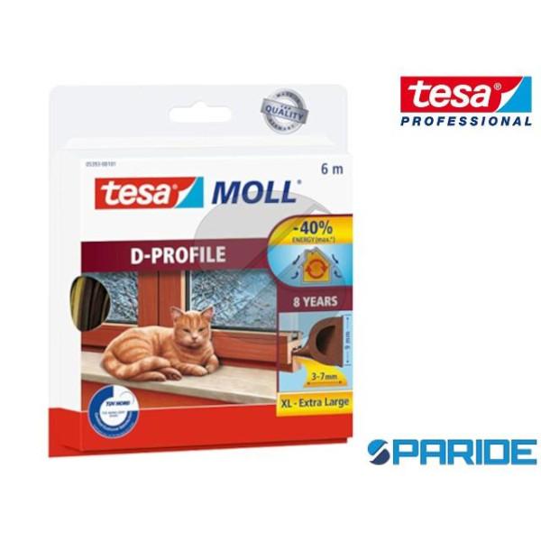 GUARNIZIONE ADESIVA TESAMOLL XL D-PROFILE 6 MT TES...