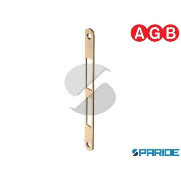 INCONTRO 18X196 OTTONE LUCIDO B010003903 AGB BORDO...