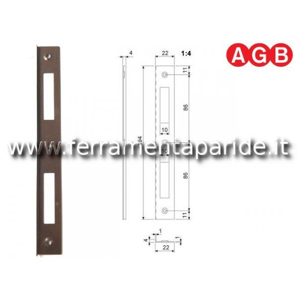 INCONTRO 22X194 BRONZATO VERNICATO B005900322 AGB ...