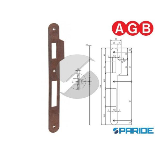 INCONTRO 22X238 BRONZATO B005901122 AGB BORDO TOND...