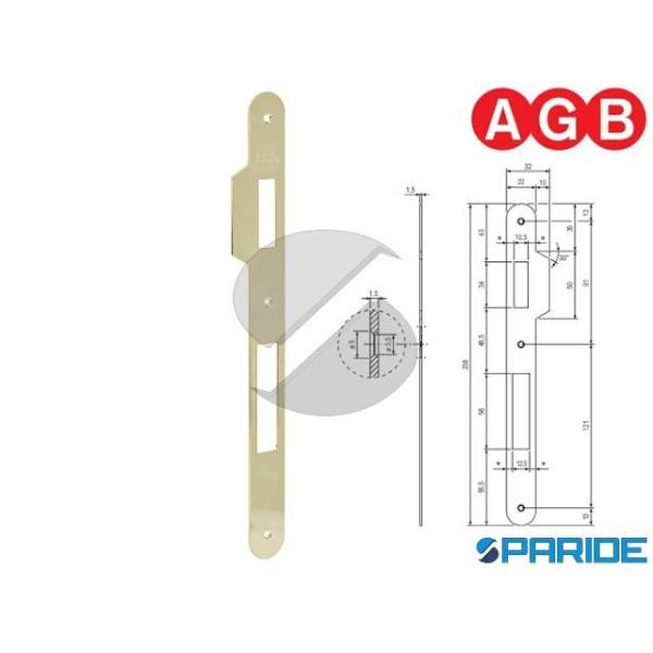 INCONTRO 22X238 OTTONE LUCIDO B005901103 AGB BORDO...