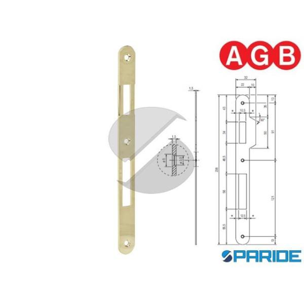 INCONTRO 22X238 OTTONE LUCIDO B005901503 AGB BORDO...