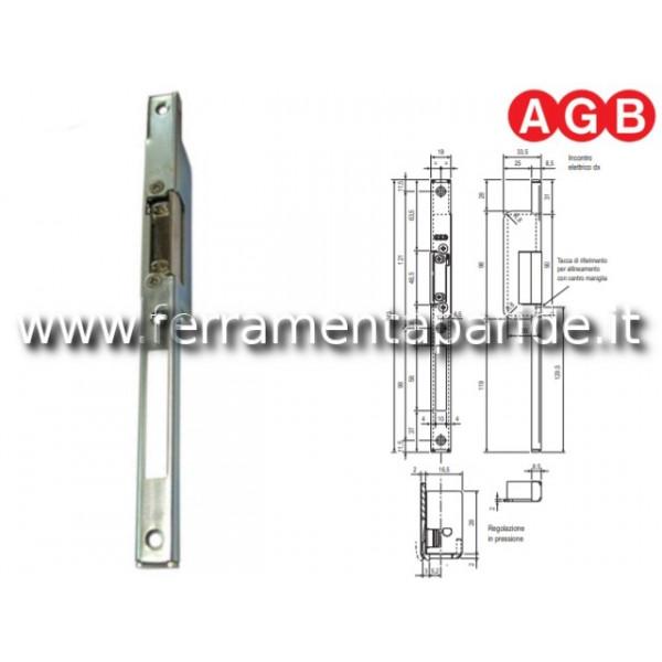 INCONTRO ELETTRICO ARIA 12 SX W980040501 AGB CON A...