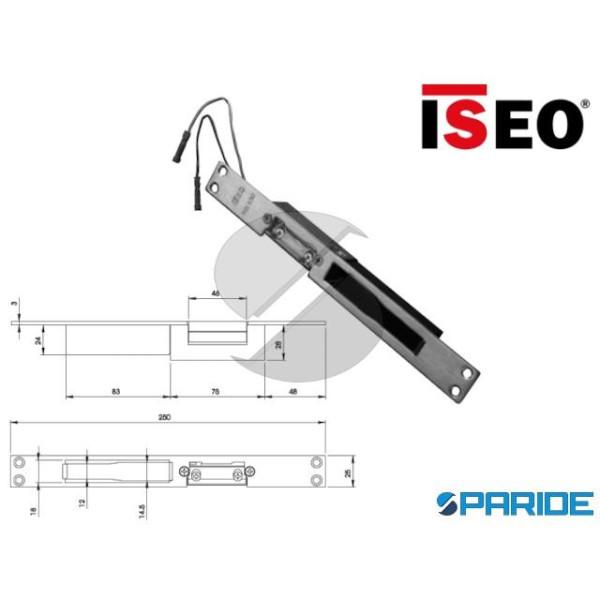 INCONTRO ELETTRICO FRONTALE INOX 25X3 L 250 566190...