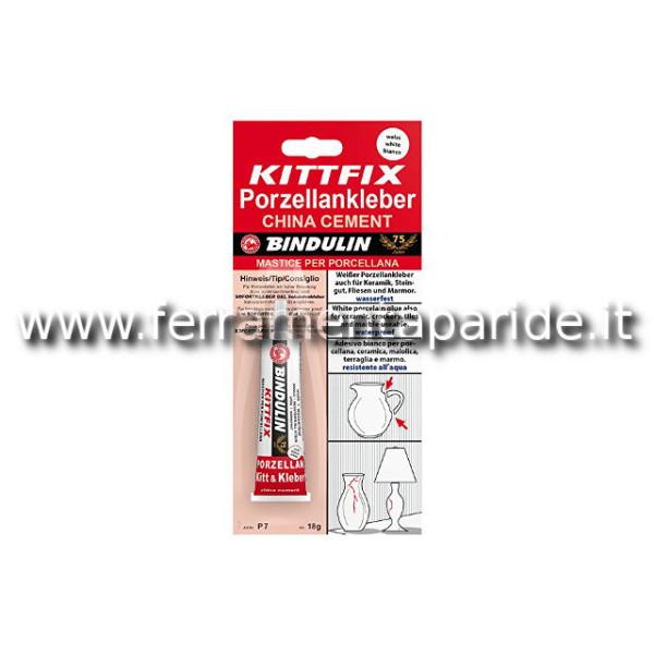 KITTFIX MASTICE PER PORCELLANA 6G BINDULIN