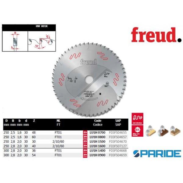 Lama circolare FREUD serie LU3D per taglio pannelli BILAMINATI