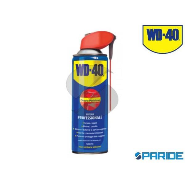 LUBRIFICANTE DOPPIA POSIZIONE WD-40 500 ML