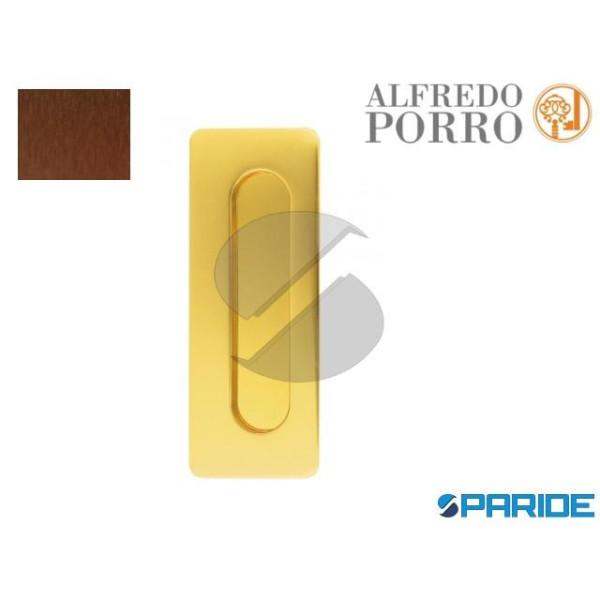 MANIGLIA INCASSO 598 BRONZO ANTICO PORRO