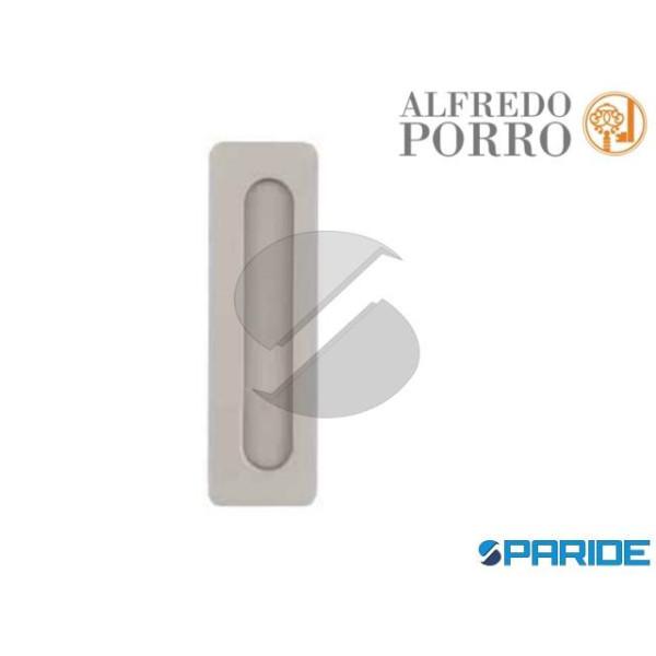 MANIGLIA INCASSO H 96 598 NICHEL SATINATO PORRO