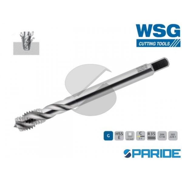 MASCHIO A MACCHINA 6134 G 1\2 GAS WSG HSS-E FORI C...