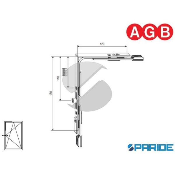 MOVIMENTO ANGOLARE A-R GR 2 A400090002 AGB