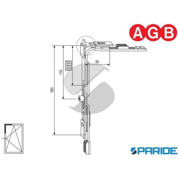 MOVIMENTO ANGOLARE A-R GR 3 A400090003 AGB