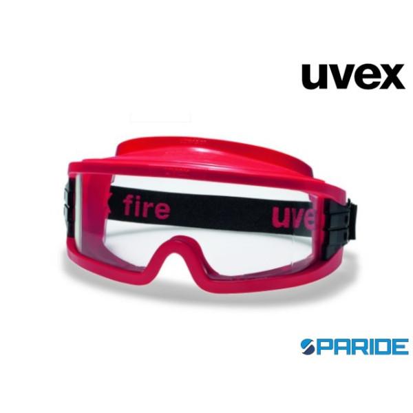 OCCHIALE A MASCHERA UVEX 9301633 FIRE ULTRAVISION