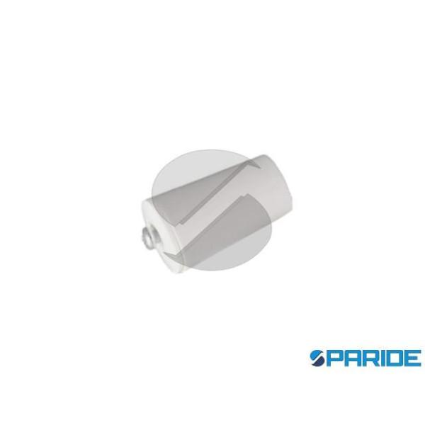 PARACOLPO PER TAPPARELLE 40 MM IN PLASTICA BIANCO