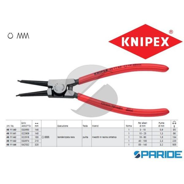 PINZA 46 11 A4 PER ANELLI DI SICUREZZA SEEGER KNIP...