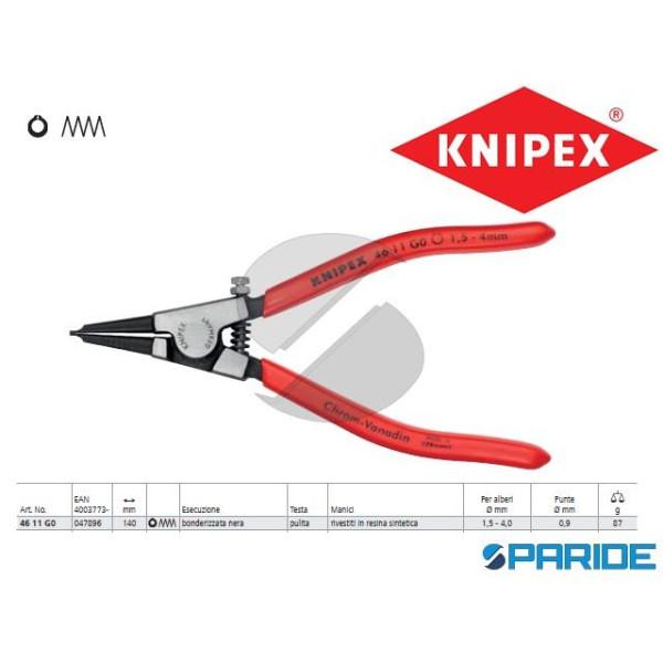 PINZA 46 11 G0 PER ANELLI DI SICUREZZA SEEGER KNIP...