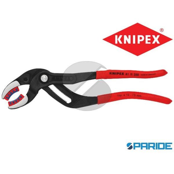 PINZA PER SIFONI E CONNETTORI 81 11 250 KNIPEX