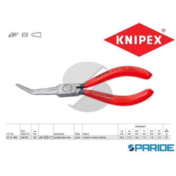 PINZA PRENSILE 31 21 160 A BECCHI LUNGHISSIMI KNIP...
