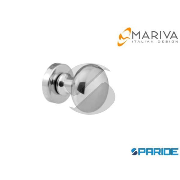 POMOLO LUX D 45 MM 155 CROMO SATINATO MARIVA