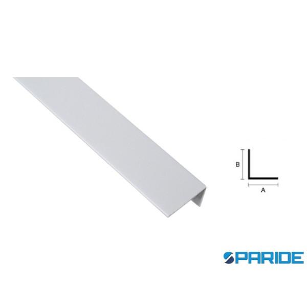 PROFILO ANGOLARE IN PLASTICA 30X30 L 3 MT GRIGIO