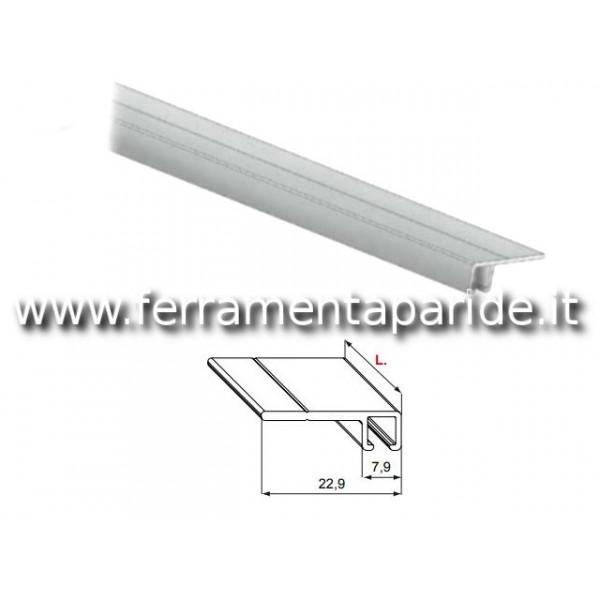 PROFILO DI SUPPORTO DF505BI L 2500 MM PER SPAZZOLI...
