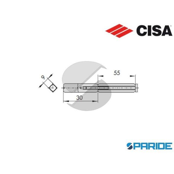QUADRO MANIGLIA 07083 50 0 CISA SDOPPIATO PER PORT...