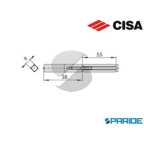 QUADRO MANIGLIA 07083 51 0 CISA SDOPPIATO PER PORT...