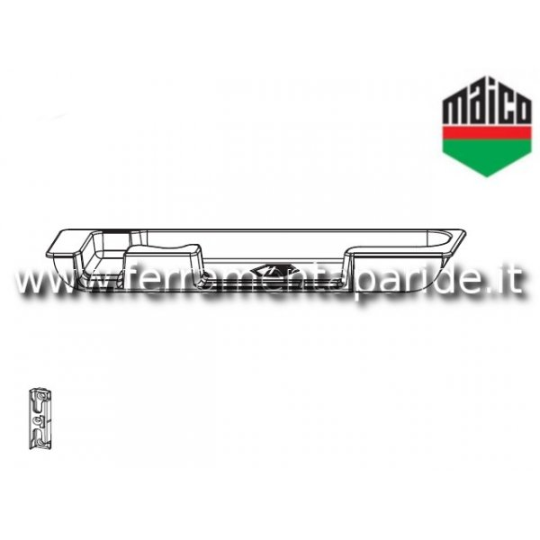 SCONTRO RIBALTA A4 ASSE 13 358993 MAICO DX