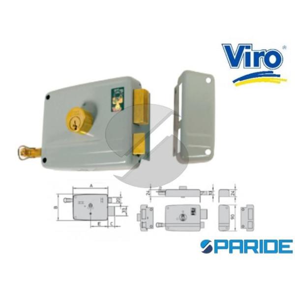 SERRATURA APPLICARE E 50 17502 714 VIRO SINISTRA C...