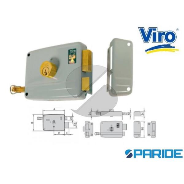 SERRATURA APPLICARE E 60 17503 714 VIRO SINISTRA C...