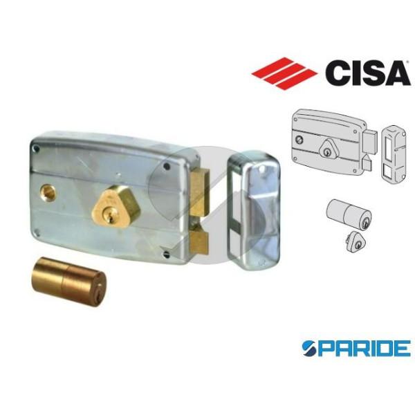 SERRATURA APPLICARE E 60 50571 SINISTRA CISA 4 MAN...