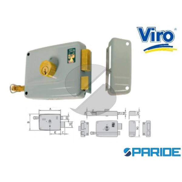 SERRATURA APPLICARE E 70 17504 712 VIRO SINISTRA C...