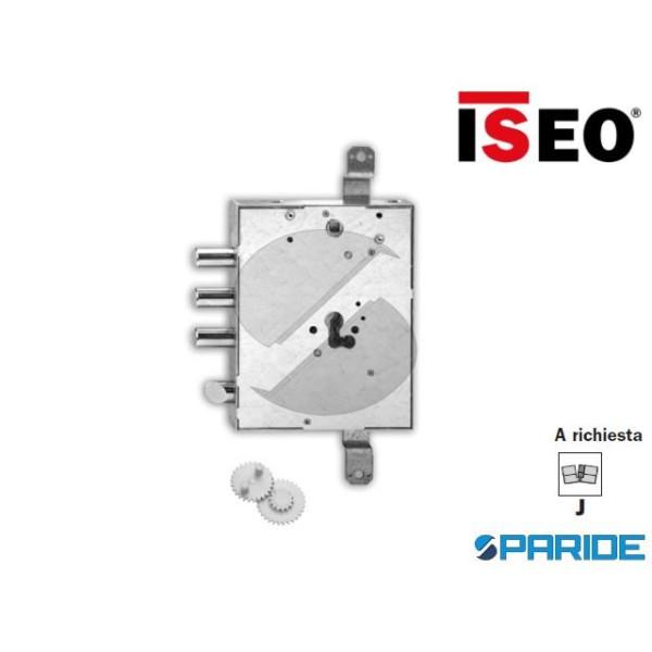 SERRATURA APPLICARE E 89 668G ISEO I37 S5 CILINDRO...