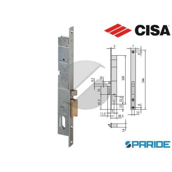 SERRATURA ELETTRICA E 15 14020 DX MONTANTE  CISA
