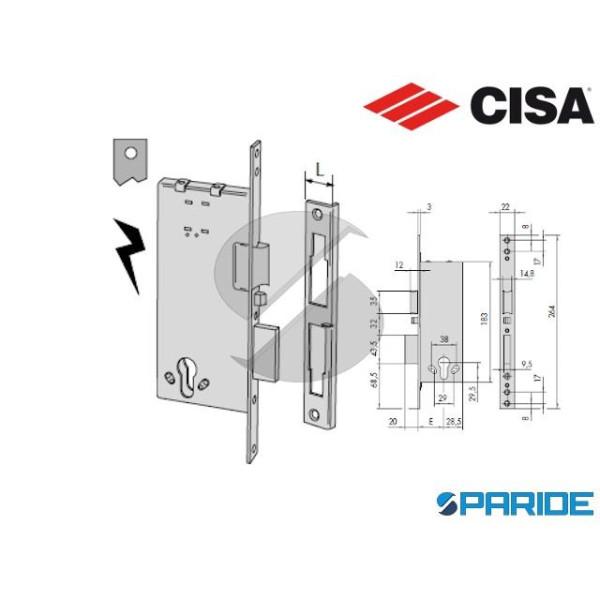 SERRATURA ELETTRICA E 60 12011 INFILARE CISA