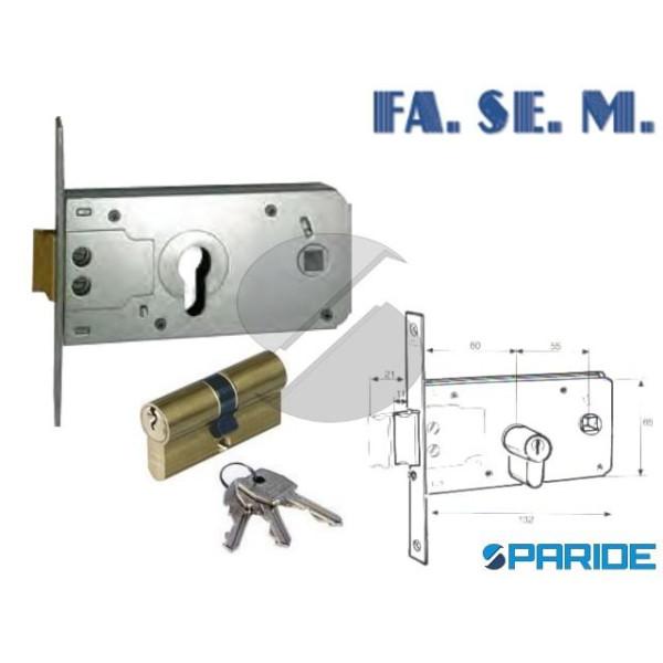 SERRATURA FASCIA E 60 911 INFILARE FASEM