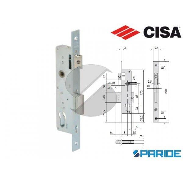 SERRATURA INFILARE E 30 44660 MONTANTE CISA (EX 44...