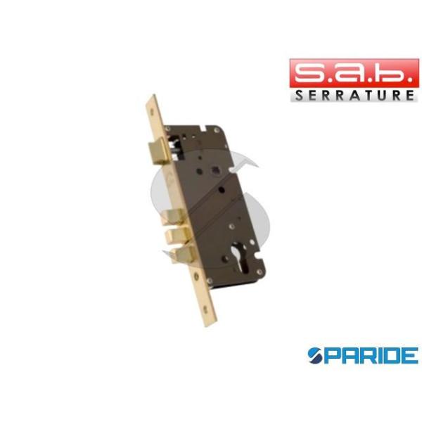 SERRATURA INFILARE E 45 2200 SAB OTTONE CILINDRO P...