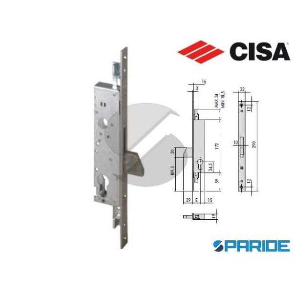 SERRATURA MONTANTE E 30 46220 CISA INFILARE