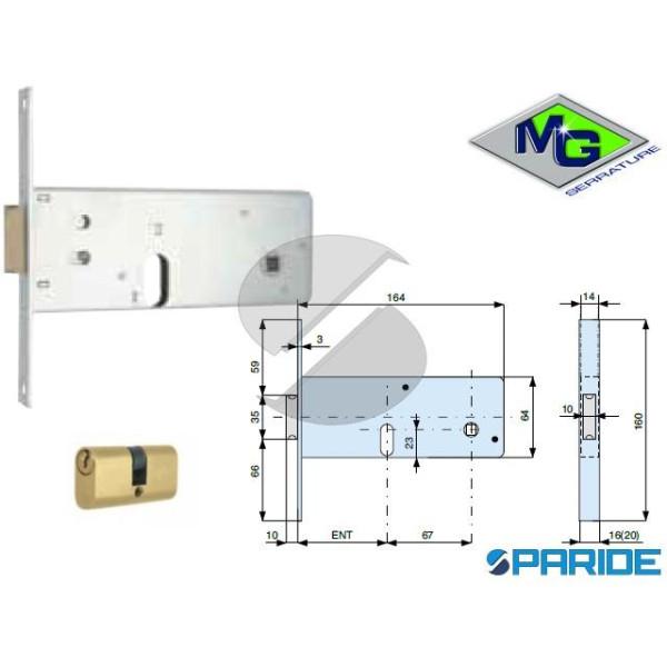 SERRATURA PER FASCE E 80 806801000 MG