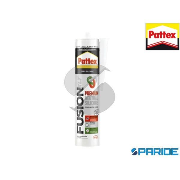 SILICONE NEUTRO TRASPARAENTE PATTEX FUSION 300 ML ...