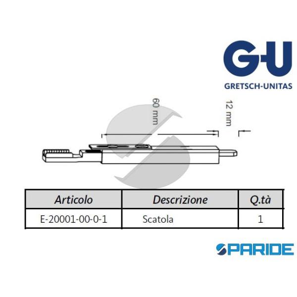 TERMINALE SUPERIORE SOLO SCATOLA E-20001 GU