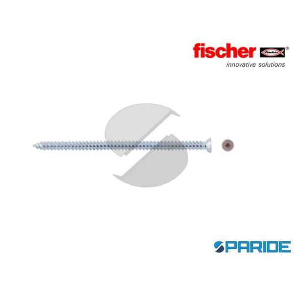 TURBOVITE FFS 7,5X122 T30 FISCHER ACCIAIO 532934
